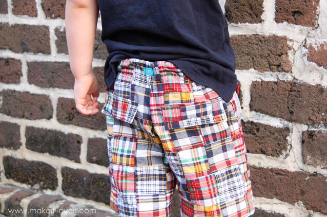 18 Boy Shorts with back flaps