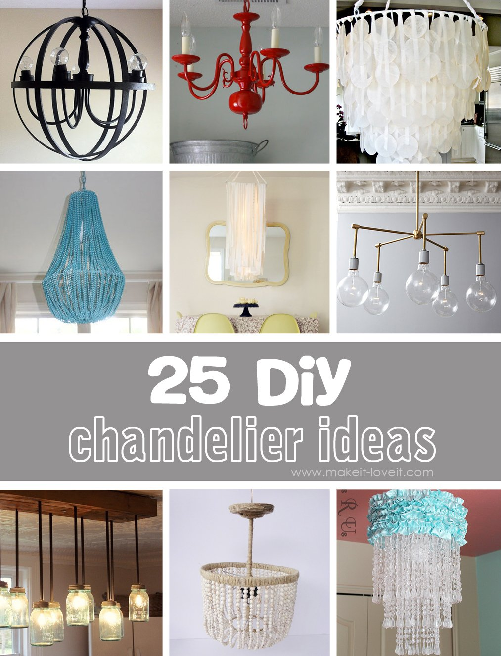 25 diy chandelier ideas make it and love it 25 diy chandelier ideas solutioingenieria Images