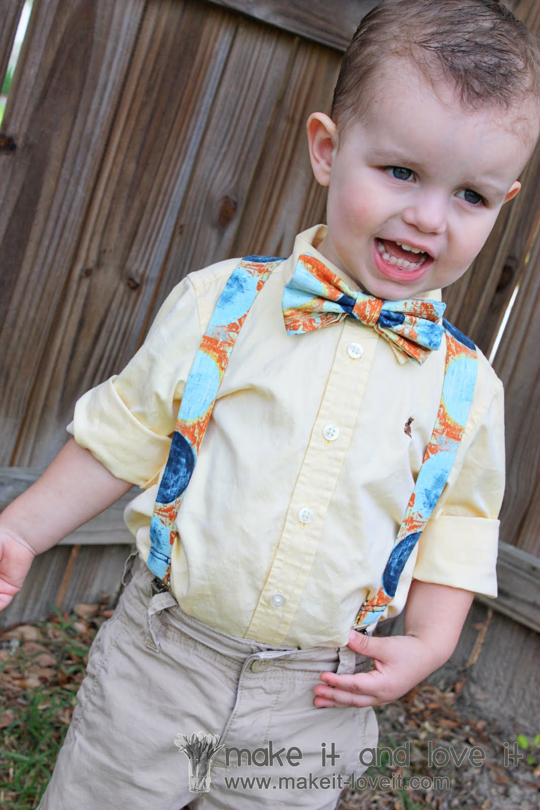 25 Little Boy Suspenders