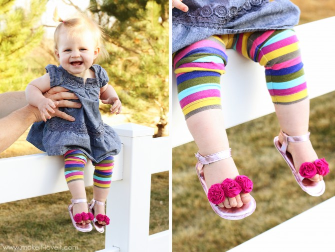 26 Flower Sandals for Baby Girl