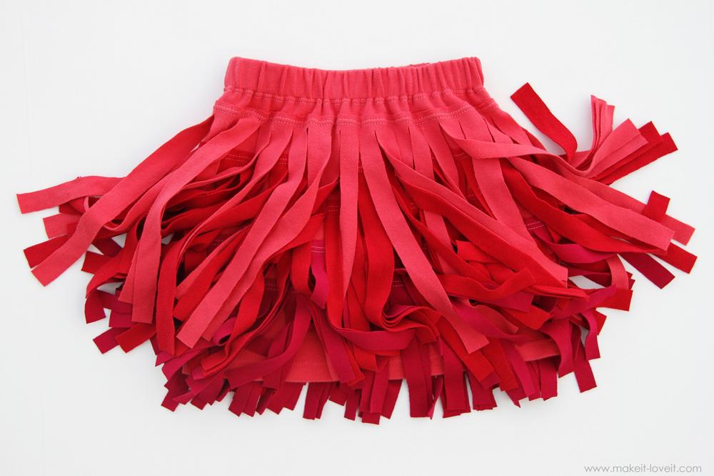 3 Fringe Skirt