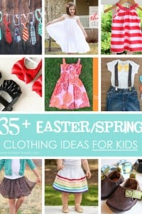 35 easter and spring clothing ideas for kids