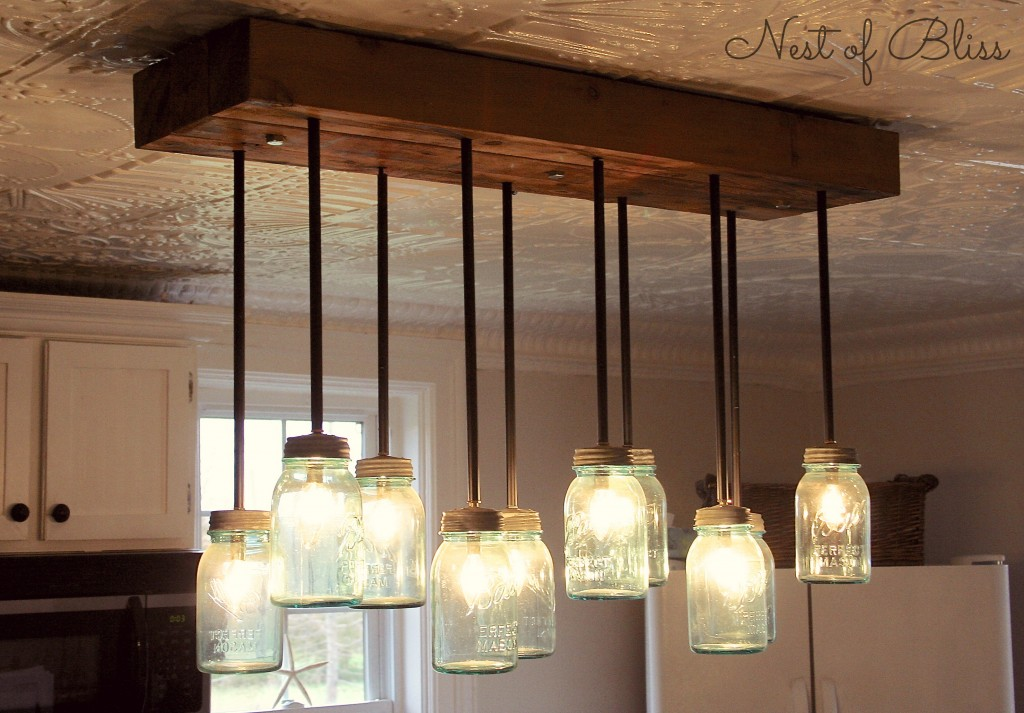 25 diy chandelier ideas make it and love it - Kitchen chandelier ideas ...