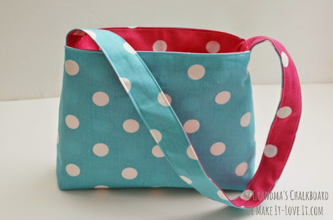 Easy reversible bag tutorial - makeit-loveit.com