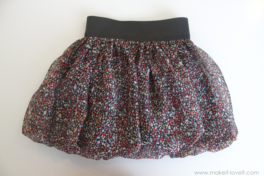 Make a Flouncy Bubble Skirt…with an elastic waist Make It and Love It Bloglovin