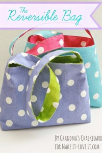 The Reversible Bag...for kids!