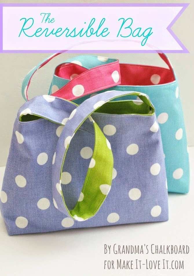 The Reversible Bag…for kids!