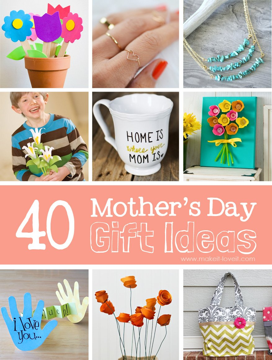 40 homemade mother 39 s day gift ideas make it and love it for Small gifts for mom