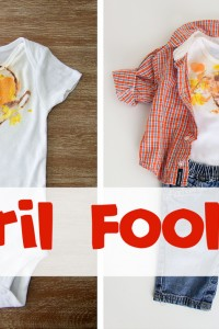 Yesterday's APRIL FOOL'S post...did I trick you?!! (Also, more tricks I did on my family!)