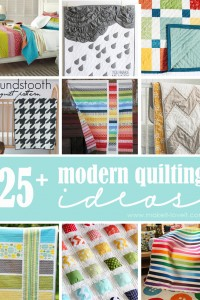 25+ Modern Quilting Ideas
