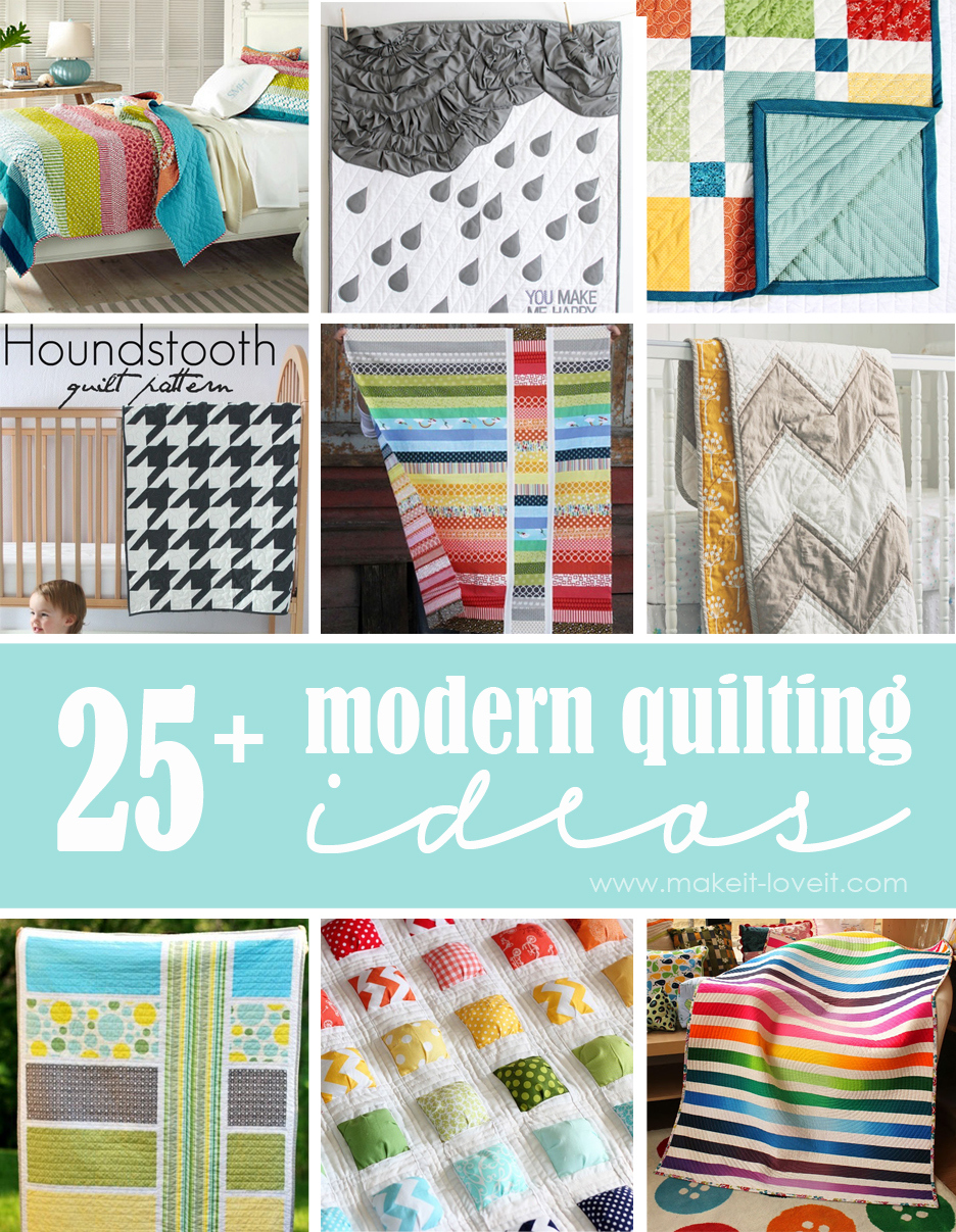25+ Modern Quilting Ideas | Make It and Love It : photo quilts ideas - Adamdwight.com