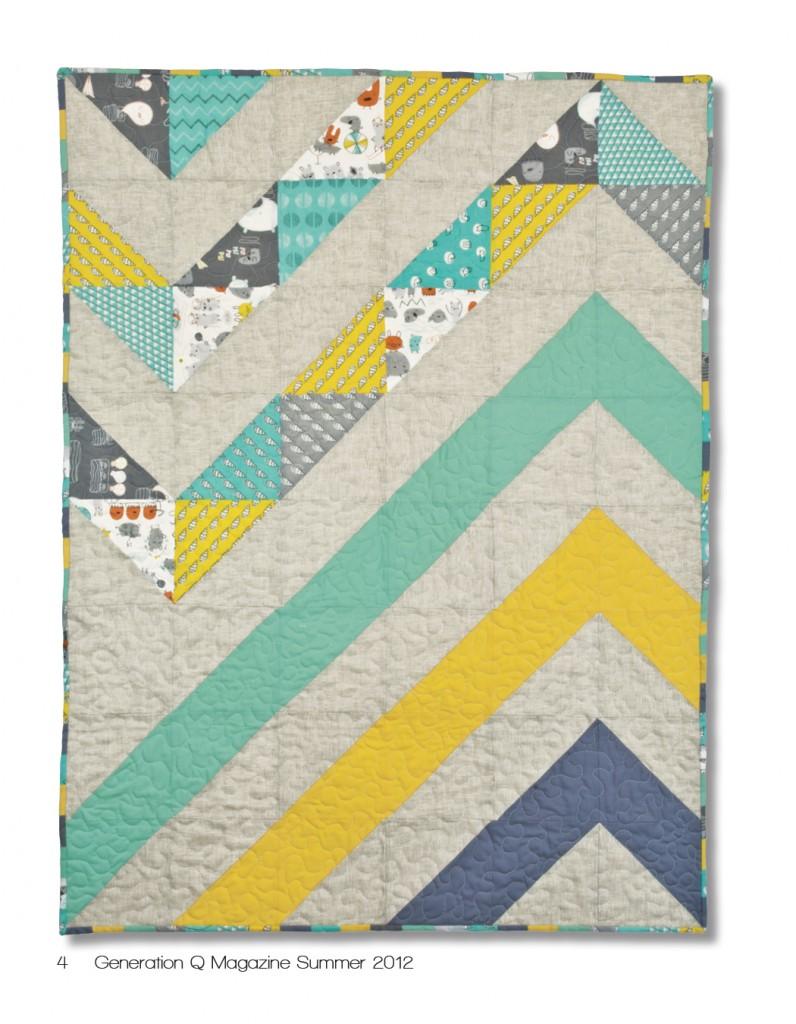 25+ Modern Quilting Ideas | Make It and Love It : chevron stripe quilt pattern - Adamdwight.com