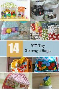 14 DIY Toy Storage Bags