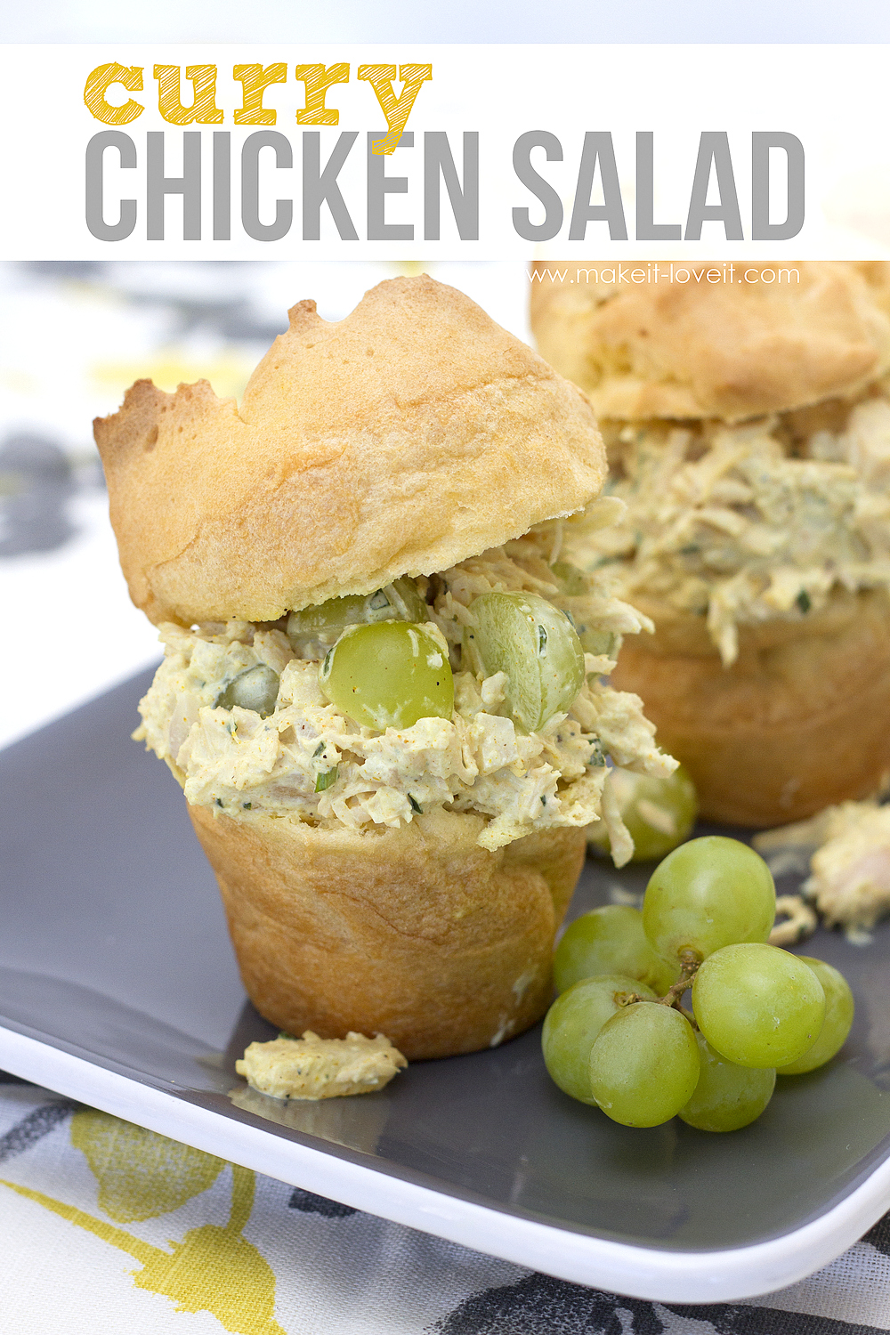 Curry Chicken Salad Recipe...nothing beats this stuff! --- Make It and ...