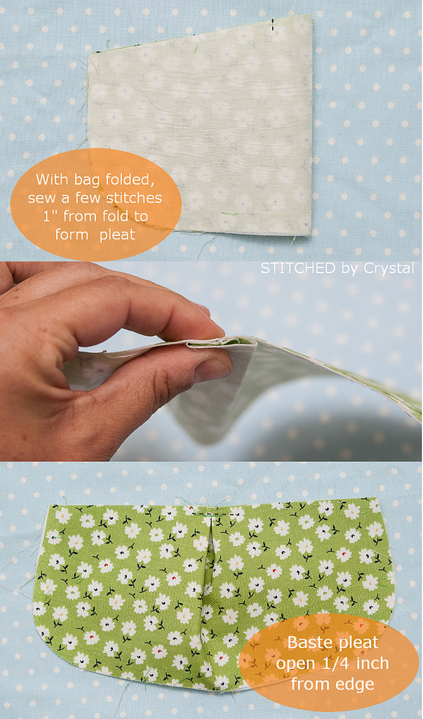 Little girl pleated purse tutorial  - makeit-loveit.com