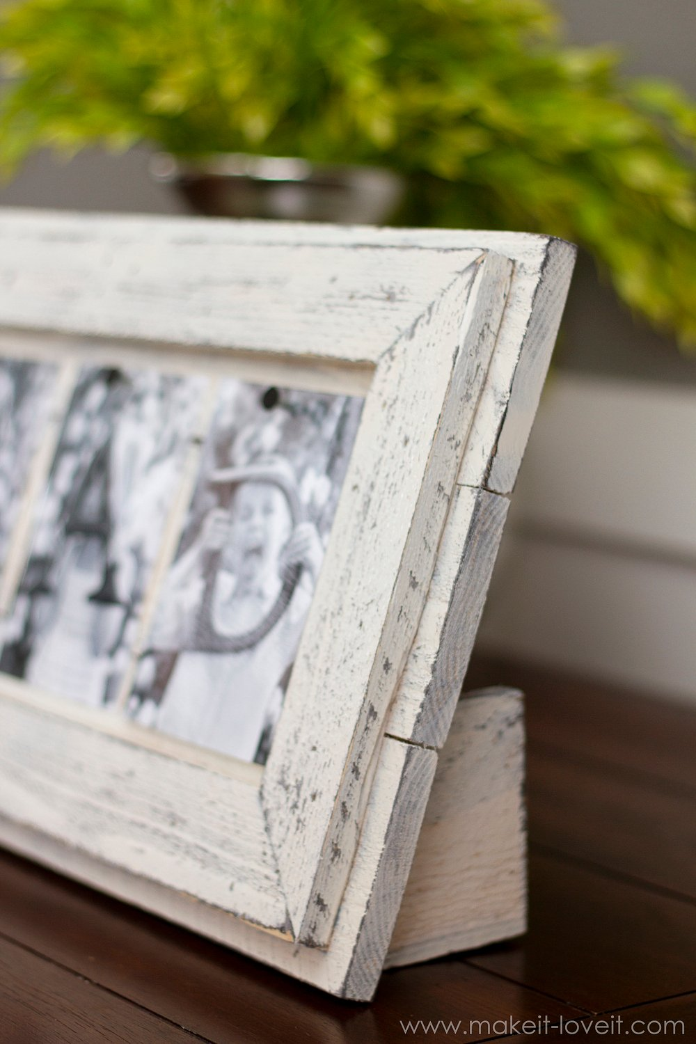 Simple Father's Day Frame...from Scrap Wood --- Make It and Love It
