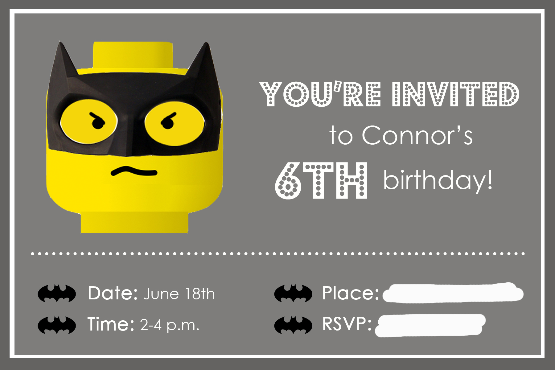 batman party invitation-1