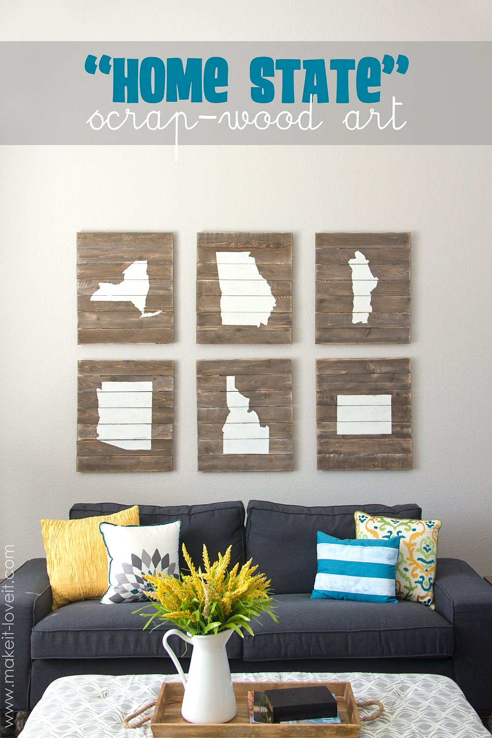 Enchanting How To Make Wall Decor At Home Images Best