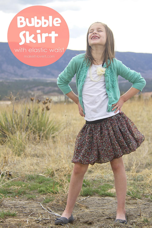 1 Bubble-Skirt-with-Elastic-Waist-11
