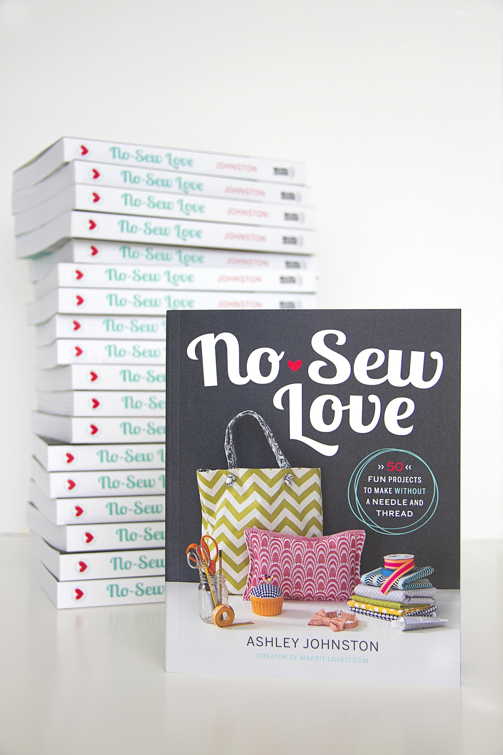 "My Book: ""NO-SEW LOVE""…available for pre-order!!"