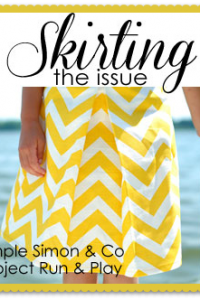 Skirting the Issue: making skirts for charity