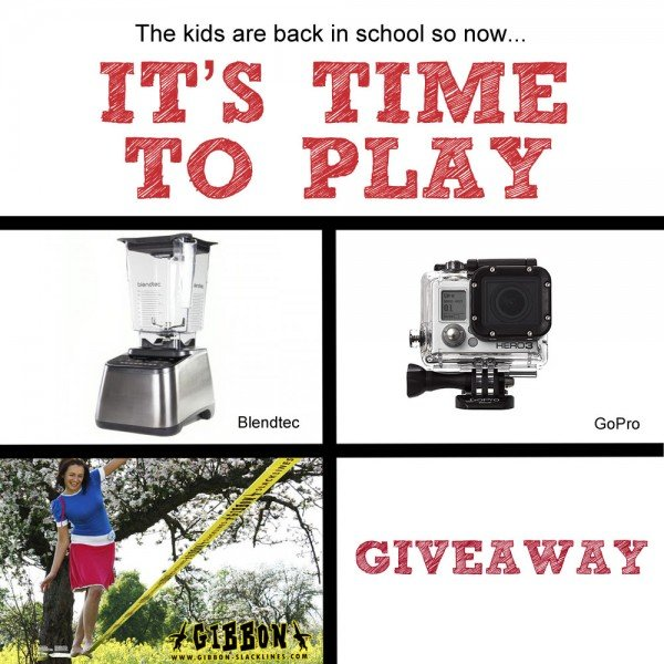 "The kids are back in school…""IT'S TIME TO PLAY"" GIVEAWAY! (7 winners!)"