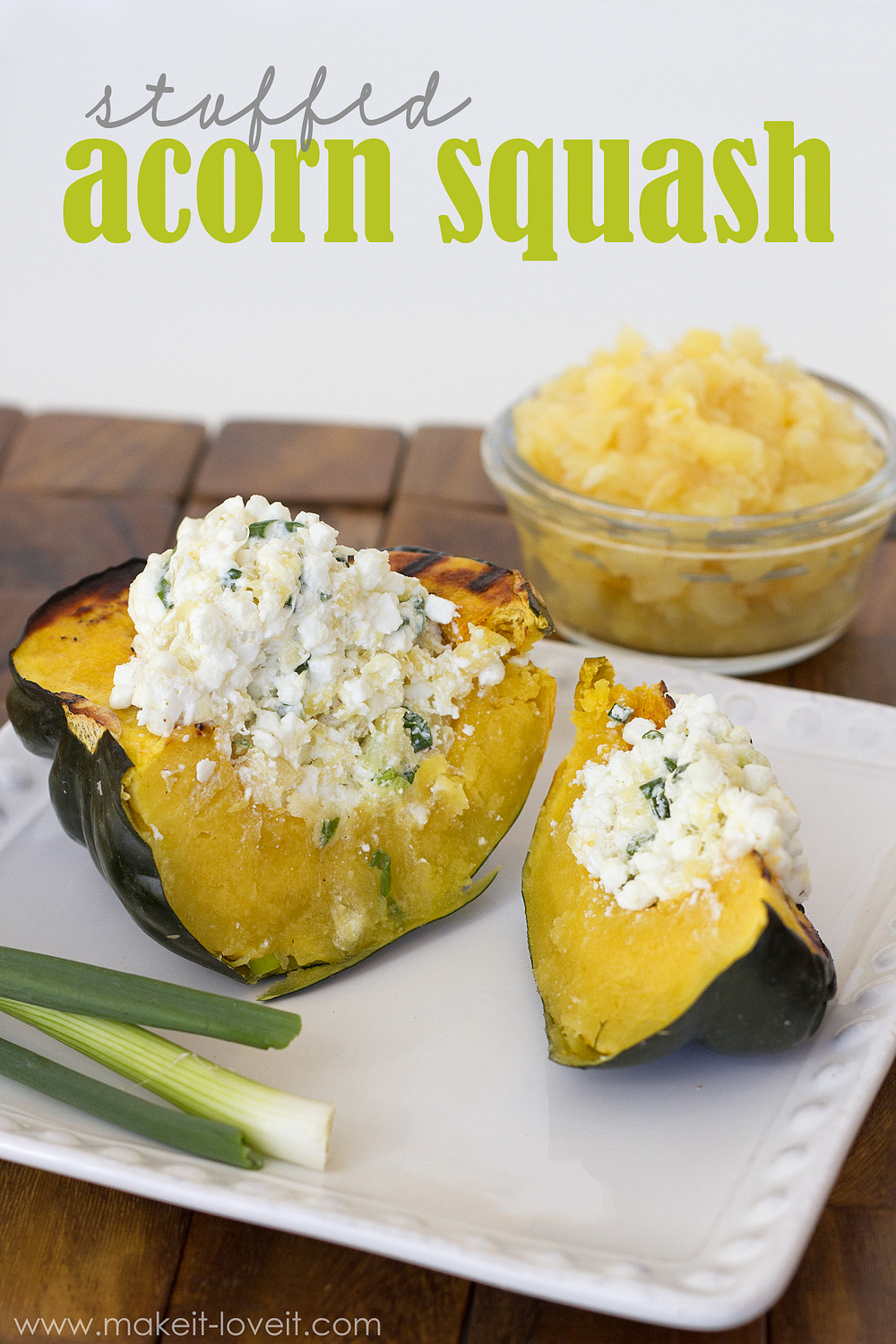 Stuffed Acorn Squash…packed with flavor!