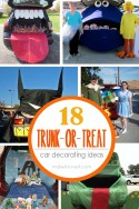 18 TRUNK-or-Treat Car Decoration Ideas! --- Make It and Love It