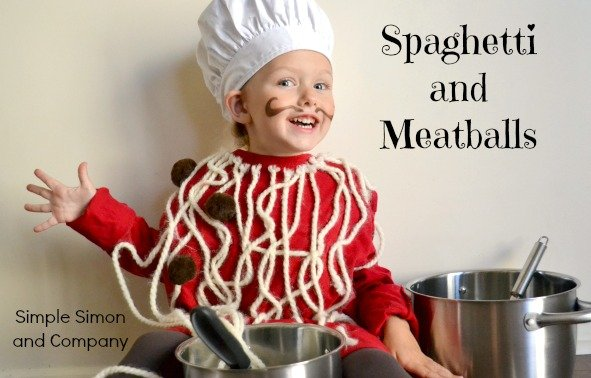 2 Spaghetti and Meatballs Costume