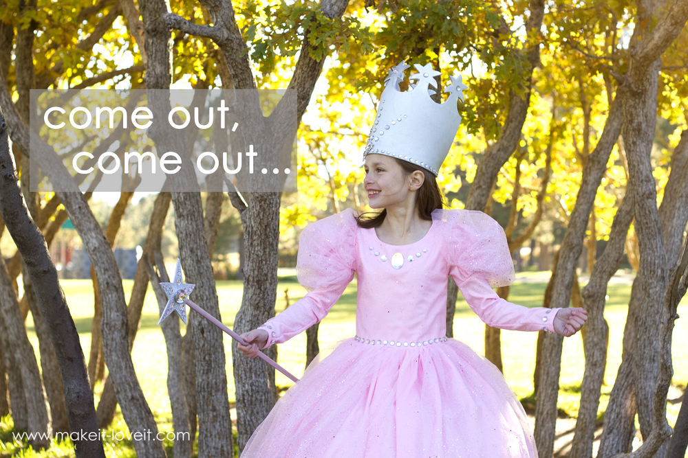 "DIY ""Glinda the Good Witch"" Costume (from Wizard of Oz) 