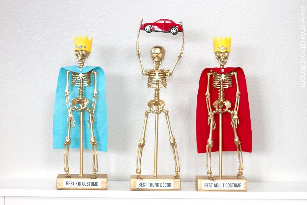 Costume Award Trophies....for your Halloween party! | Make ...