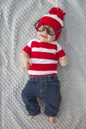 "A simple ""Where's Waldo"" costume for kids and adults both.....in less than an hour! --- Make It and Love It"