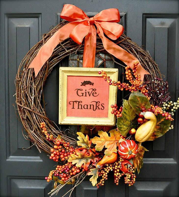 Pinterest Decor Crafts: 31 DIY Fall Wreath Ideas