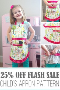 "Pattern Winners...plus, a quick ""Apron Pattern"" FLASH SALE"