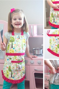 The Ruffle Apron PDF Pattern (for Elli and Chloe)....plus a GIVEAWAY!