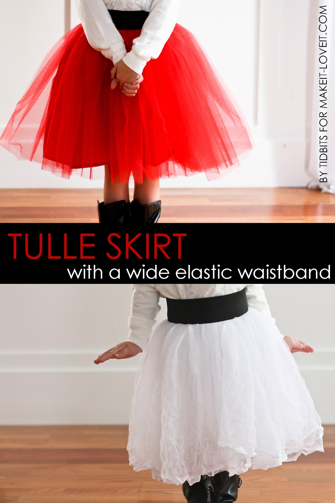 Diy Tulle Skirt With Elastic Band Makeit Loveit
