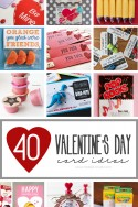 40 DIY Valentine's Day Card Ideas (for kids!) | via Make It and Love It