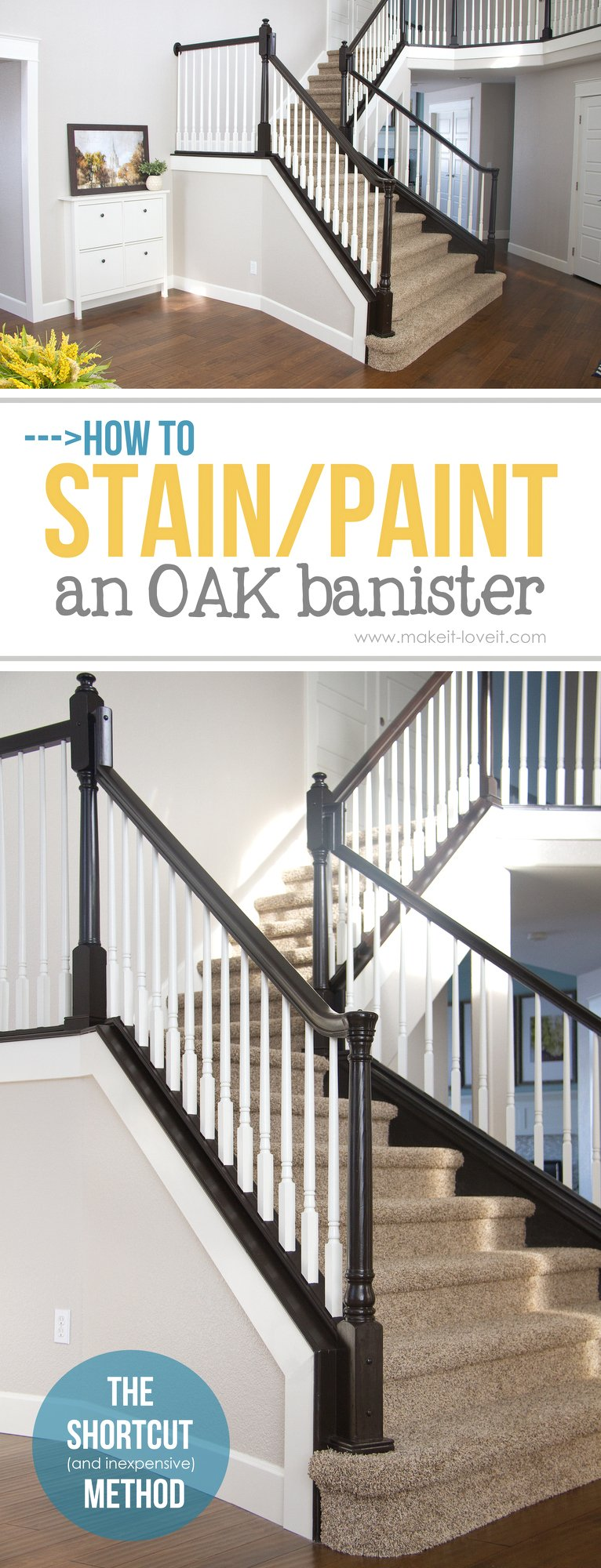 how to stain oak cabinets the simple method without sanding