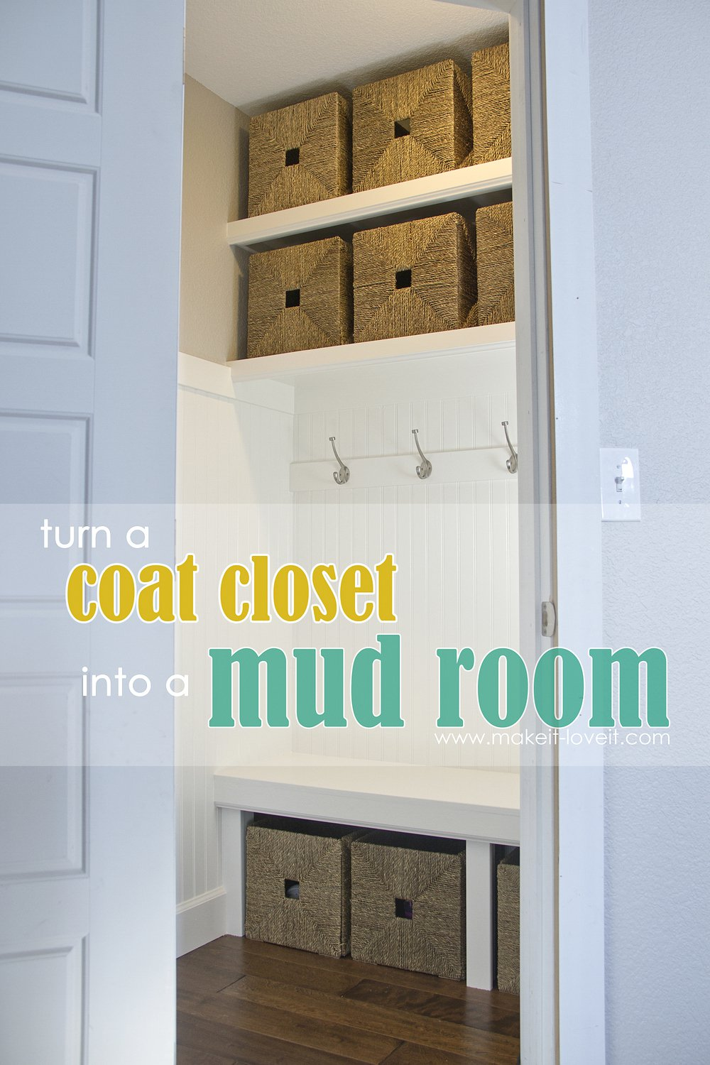 Turn-a-coat-closet-into-a-mudroom-1