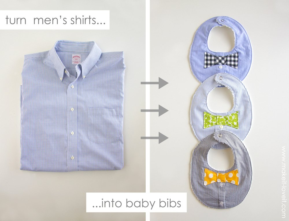 cute 3 month baby picture ideas - Bow Tie Drool Bibs r BOYS from a Men s shirt