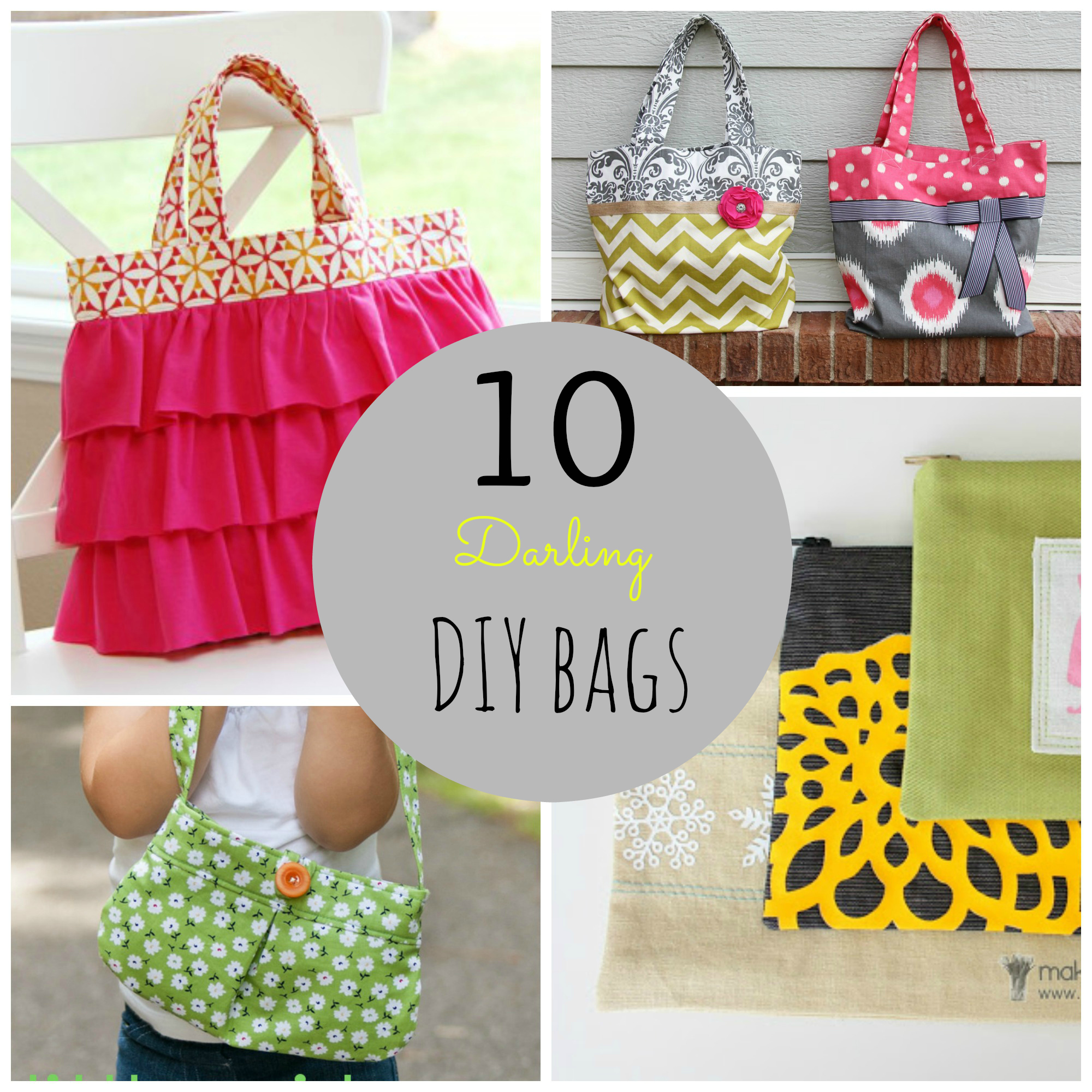 10 Darling DIY Bags