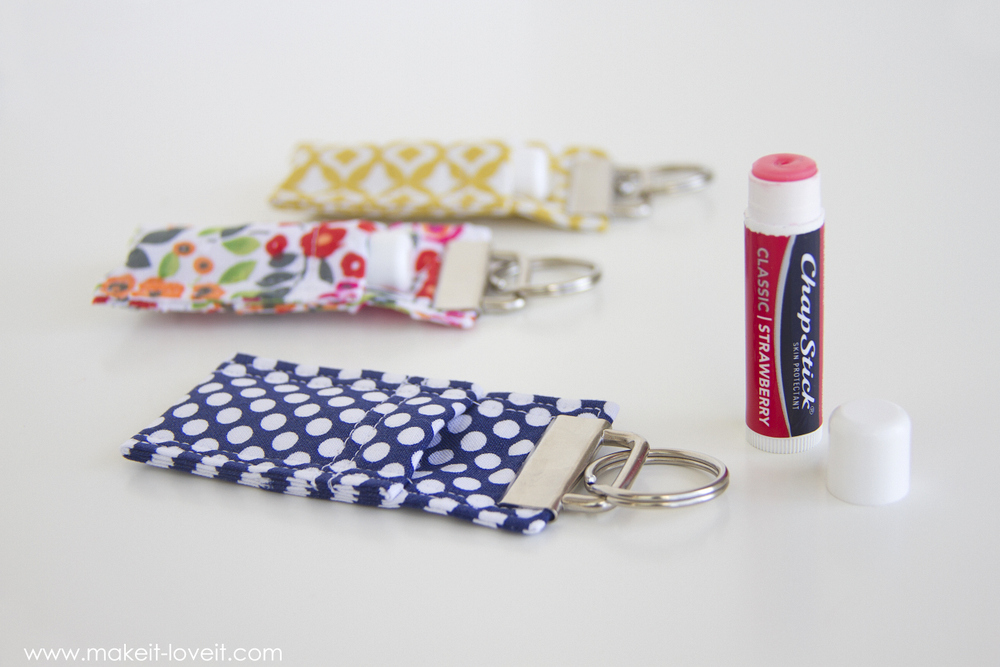 Diy Fabric Chapstick Holder Make Love
