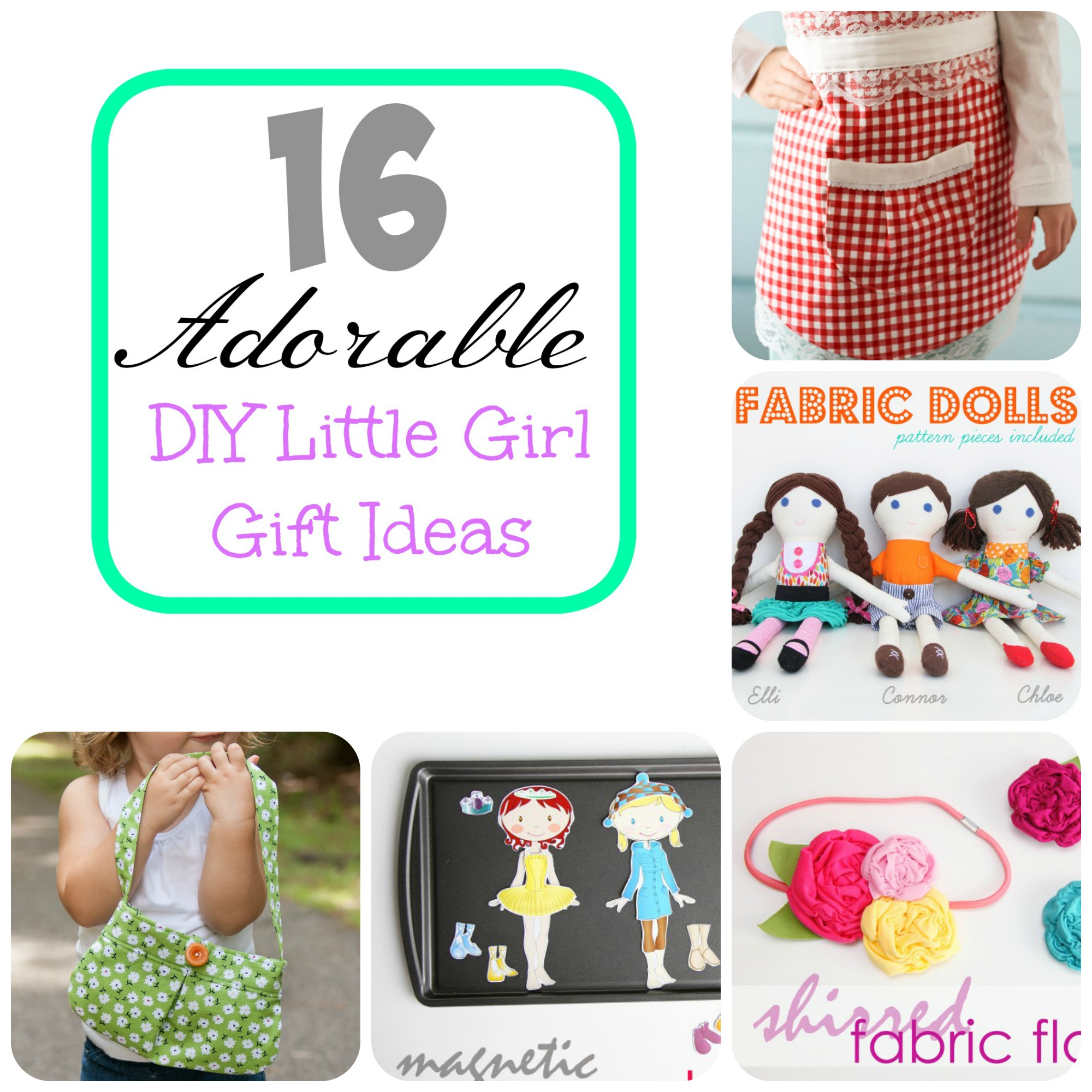 16 Adorable DIY Little Girl Gift Ideas | Make It and Love It