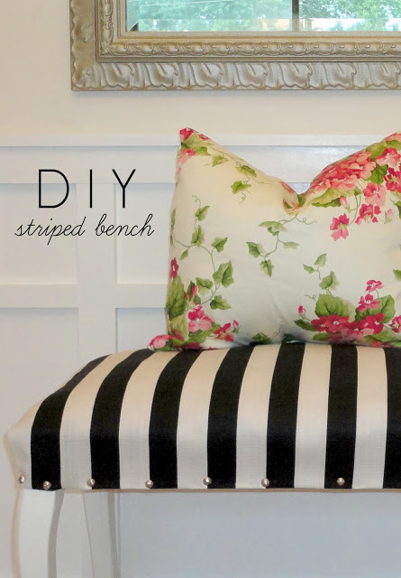1DIY bench tutorial