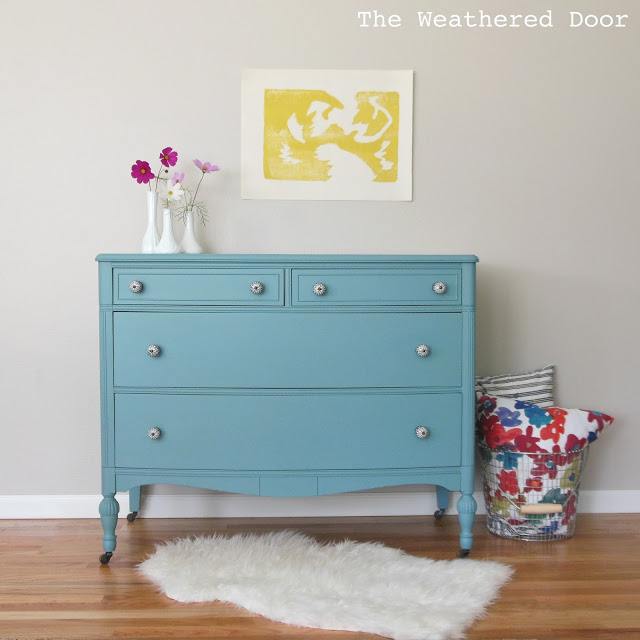 1bayside blue dresser WD 2