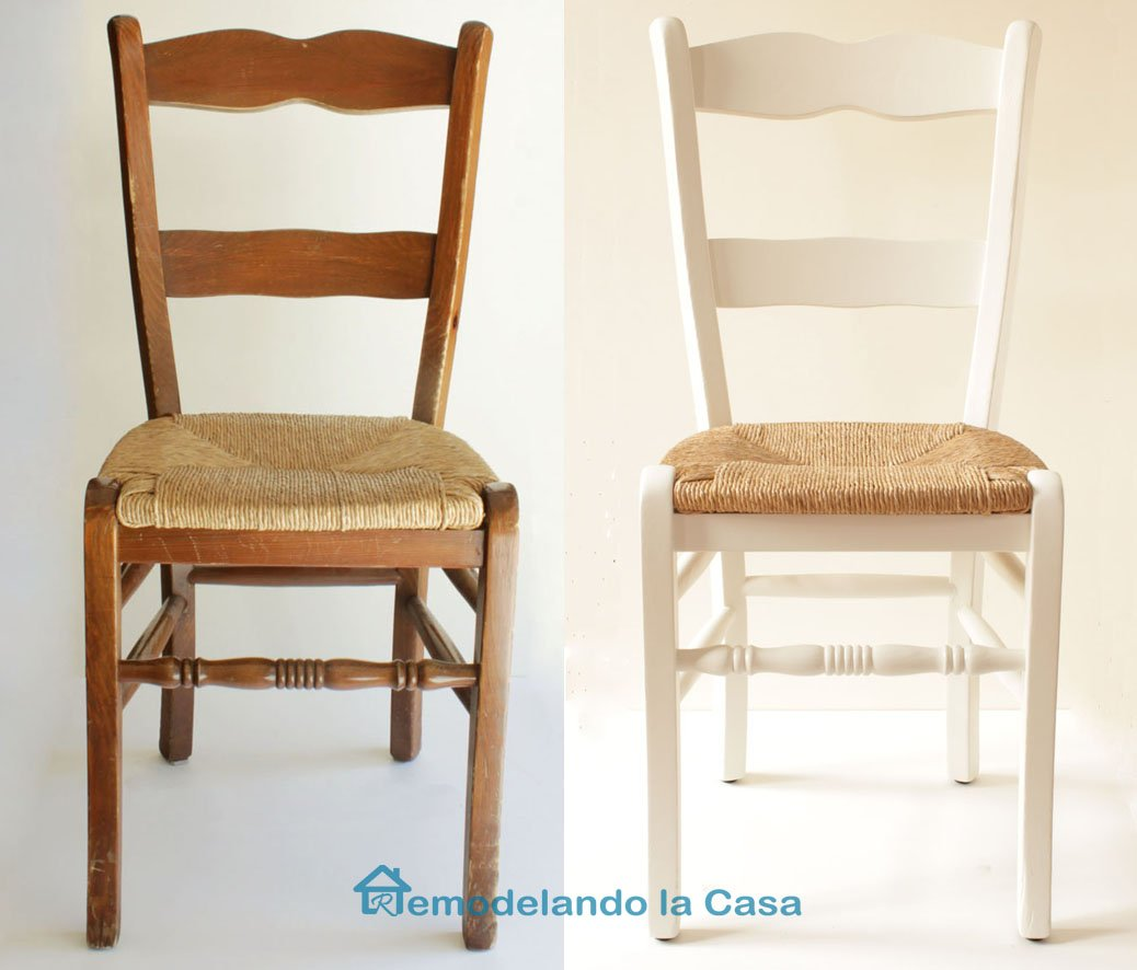 1before and after painted chair