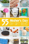 55 Mother's Day DIY Gift Ideas | via Make It and Love It