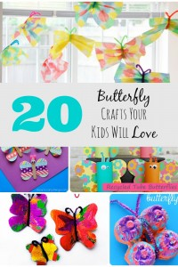 20 Butterfly Crafts Your Kids Will LOVE