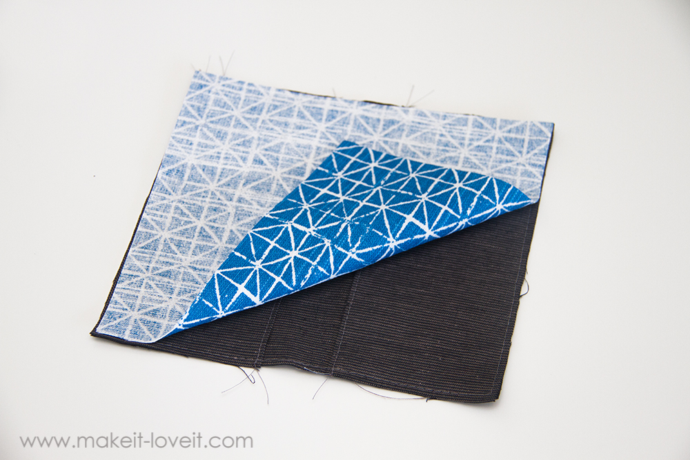 Fabric Checkbook Cover With Duplicate Check Divider