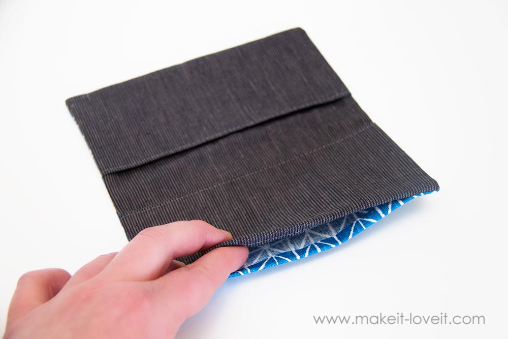 Fabric Check Book Cover (9)